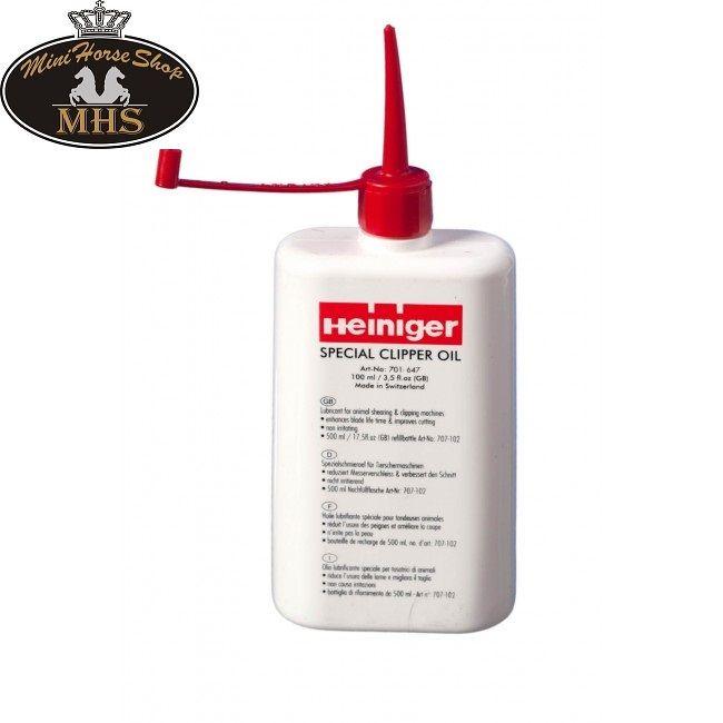 Heiniger #Rasierer #Öl. Diese bleiben länger scharf und reizt nicht die Haut Ihres Pferdes. Bestellen Sie jetzt im #MiniHorseShop; der größte Webshop für Mini-Pferde und Shetländer!