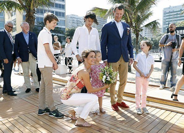 "Scandinavian Royals. a Twitteren: ""Danish Royals attended this morning the opening of the Danish pavillion at Ipanema Beach…"