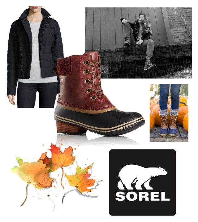 """""""Kick Up the Leaves (Stylishly) With SOREL: CONTEST ENTRY"""" by salapopo on Polyvore featuring SOREL and sorelstyle"""
