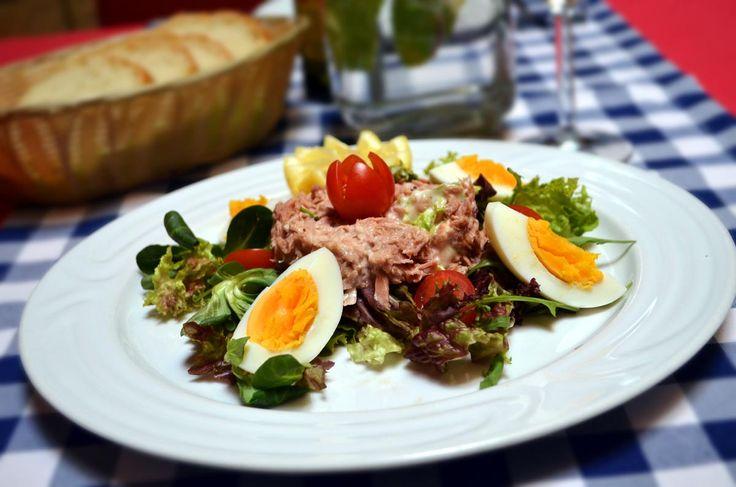 Lunch menu - Tunafish salad
