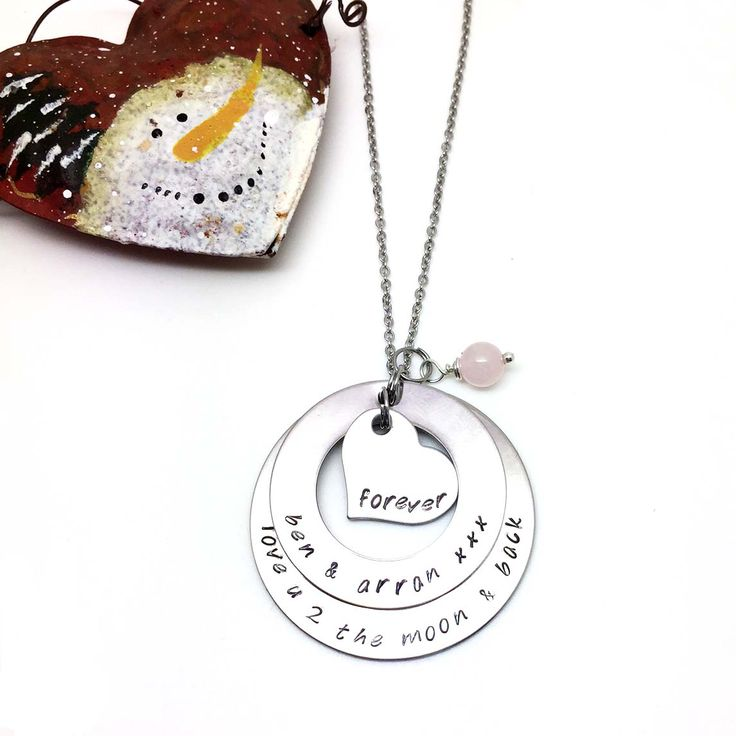 Two Circle Necklace - Theta Jewellery