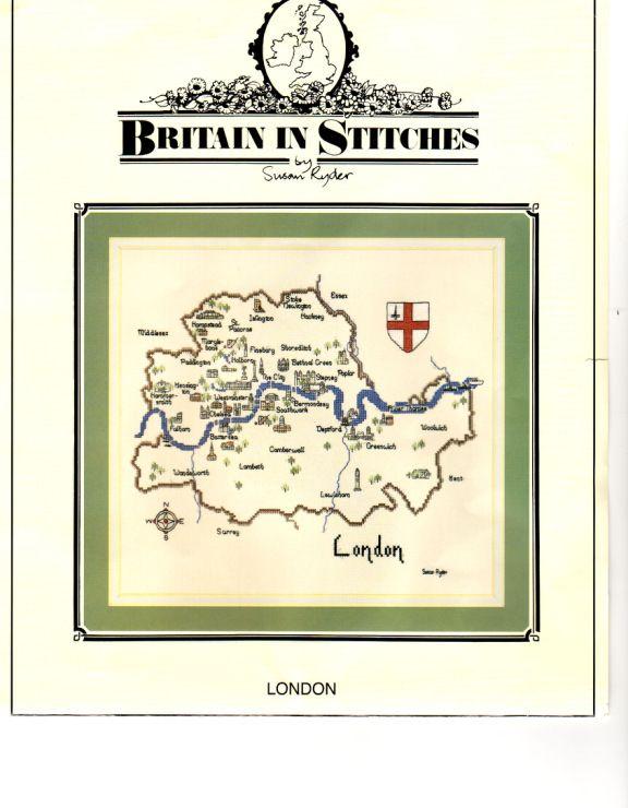 Gallery.ru / Фото #1 - Карта Лондона - DELERJE  1-9