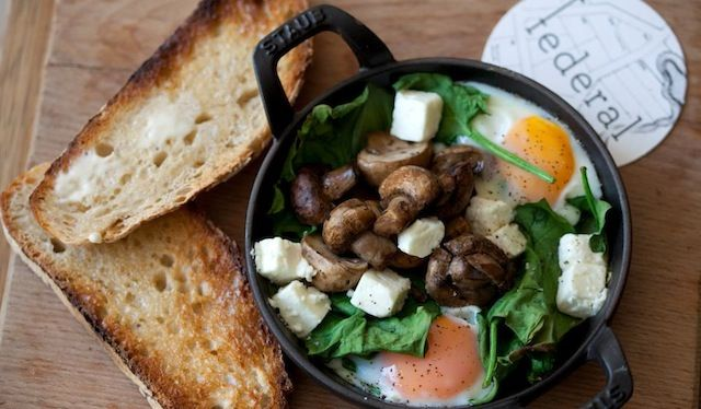 Brunch: Cafe Federal  - Carrer del Parlament, 39, San Antoni: Brunch place: Pro's: Fantastic Brunch menu! Quality Ingredients Con's: Expect to wait for a table Recommendations: Everything I've tried is great!