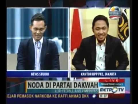 """Dialog: Boni Hargens - Anis Matta """"Noda di Partai Dakwah"""" (Metro TV dalam tayangan Prime Time News)"""