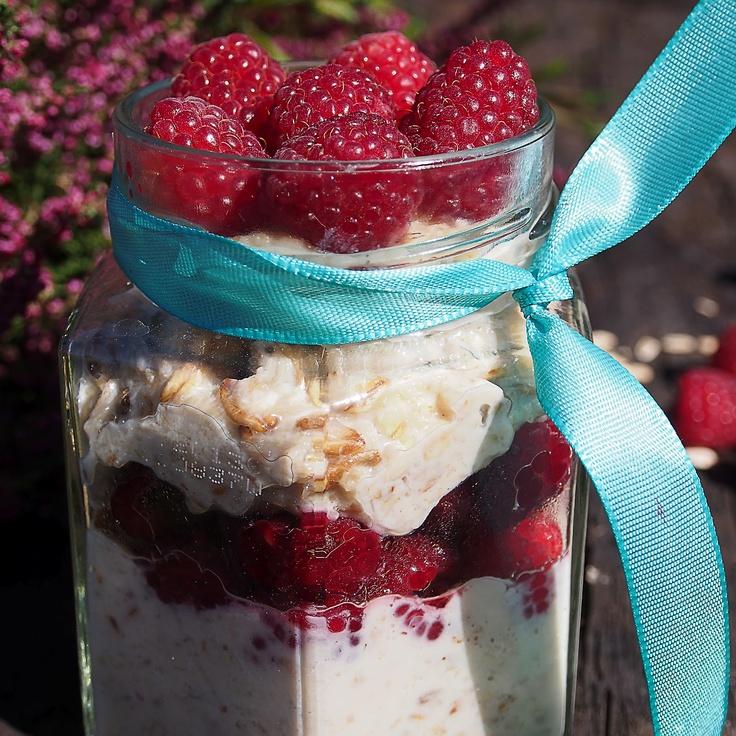 oatmeal with raspberries - owsianka z malinami