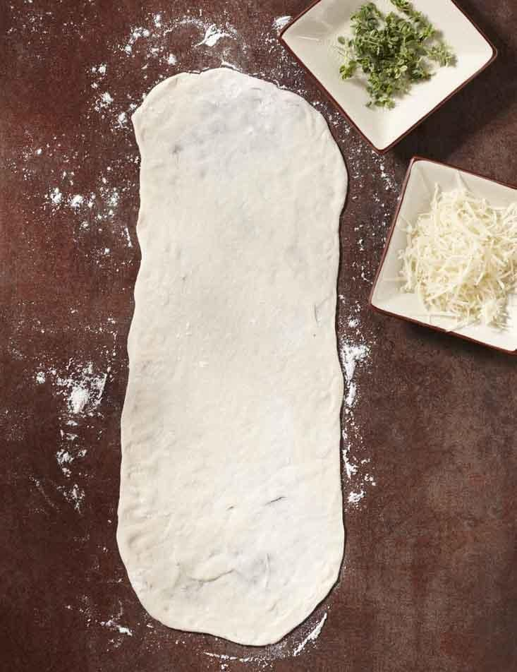 Fleischmanns Pizza Crust Yeast | Recipes | Crust | Recipe #1