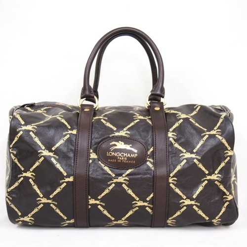 Vintage Longchamp Monogram Sdy Handbag