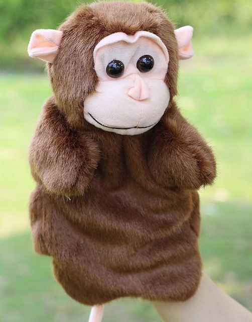 Aliexpress.com: Comprar Marioneta Títeres de animales Marioneta de Mano Muñecos de Peluche de Elefante Panda Gato Mano Muñeca Bebé Juguetes de Aprendizaje Marionetes Fantoche Títeres de animal hand puppets fiable proveedores en OKIS