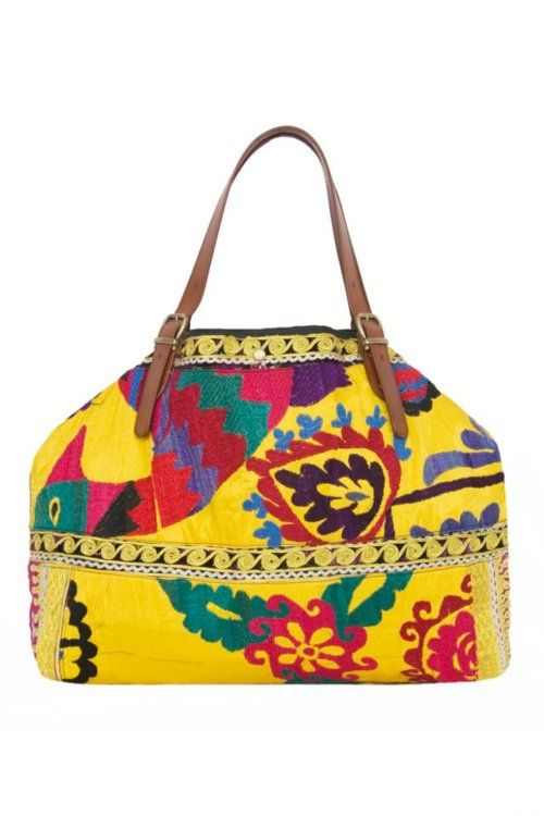 Lovely embroidered Boho bag