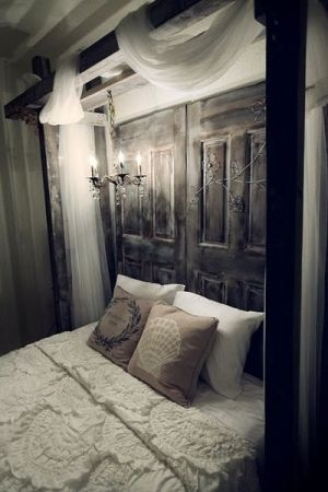 repurposed decor | ... Designs: New Takes On Old Doors: Salvaged Doors Repurposed décoration