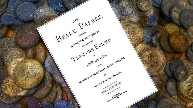 En 1885 el autor James B. Ward publicó unas instrucciones que supuestamente conducen a un tesoro enterrado entre 1819 y 1821 cerca del condado de Bedford, Virginia (EE.UU.). En los cuadernos publicados estaba incluido un cifrado y, según se afirmó por entonces, quien lograra descifrar el texto llegaría a un tesoro escondido de oro, plata y joyas.</p>