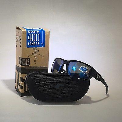 Sunglasses 151543: New Costa Del Mar Sunglasses Cz 11 Bmglp Cortez Shiny Black Blue Mir 400G -> BUY IT NOW ONLY: $154.99 on eBay!
