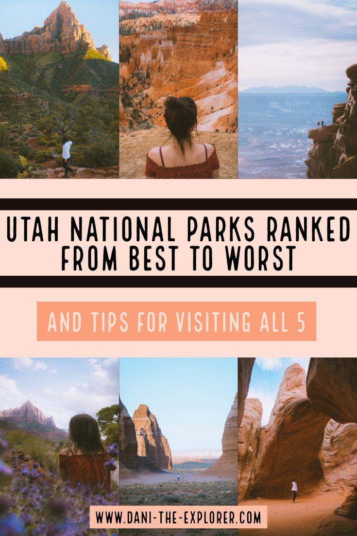 Utah National Parks Ranked Best To Worst