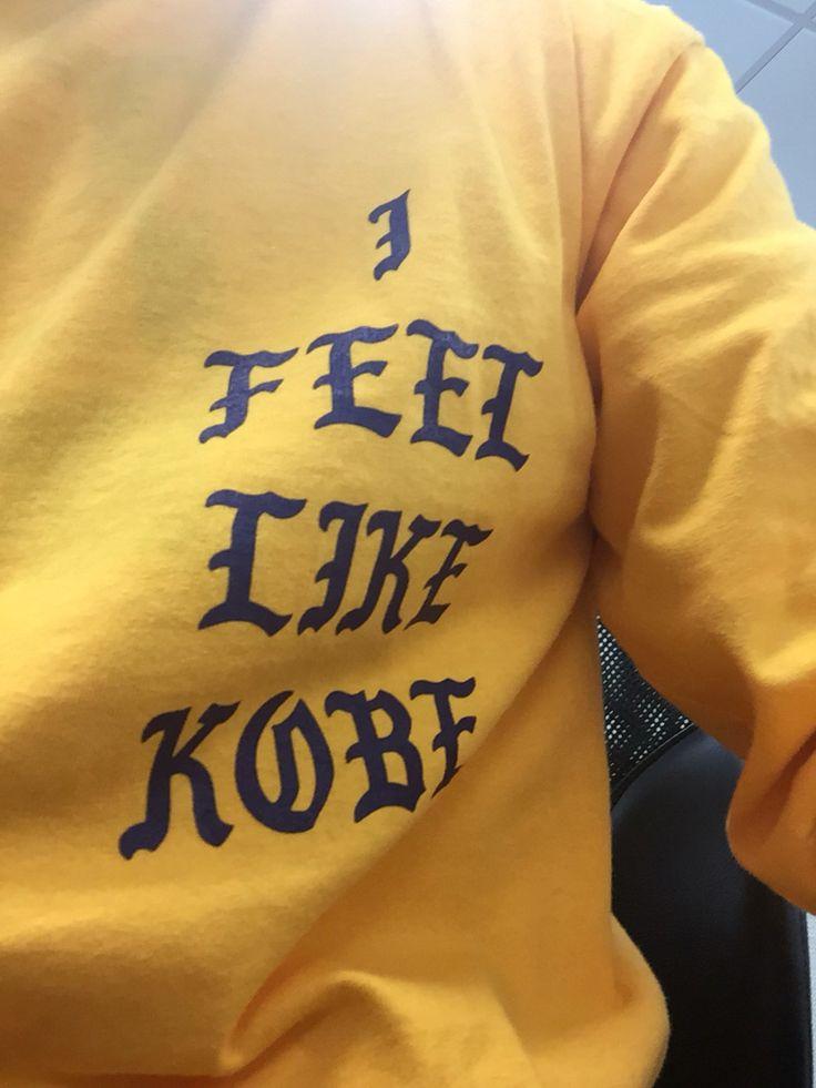 Kanye West - I Feel Like Kobe Shirt