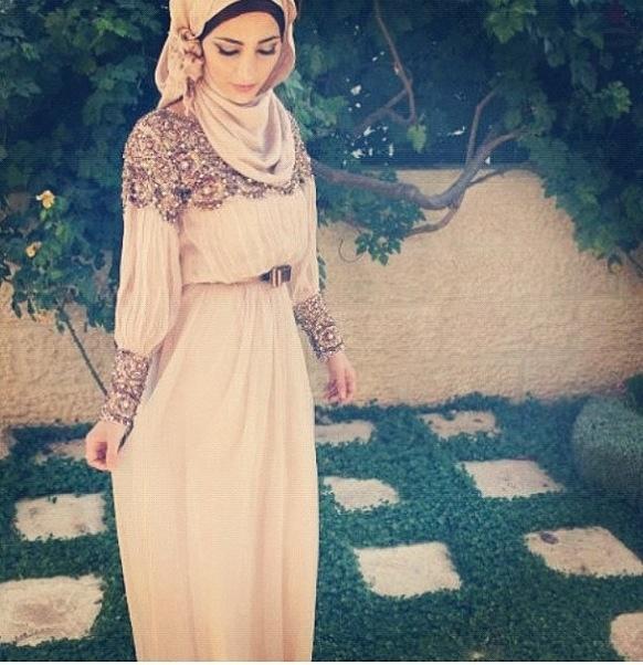 Hijabi style! I love