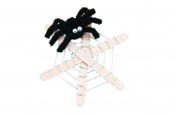 Spider Web Crafts Activity