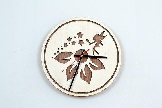 12'' Wooden Wall Clock / Home Decor / Housewares / by JVKWOODWORK, $36.50