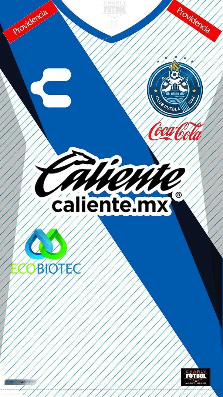 Club Puebla 17-18 kit home #soccertips