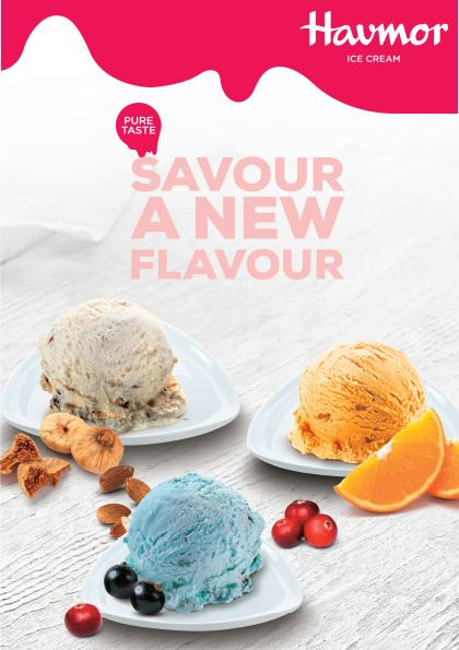If you want to #SavourANewFlavour, we' re giving you three! Fresh Orange, Blue  Ocean & Anjeer Badam!