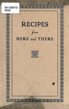 Recipes from here and there