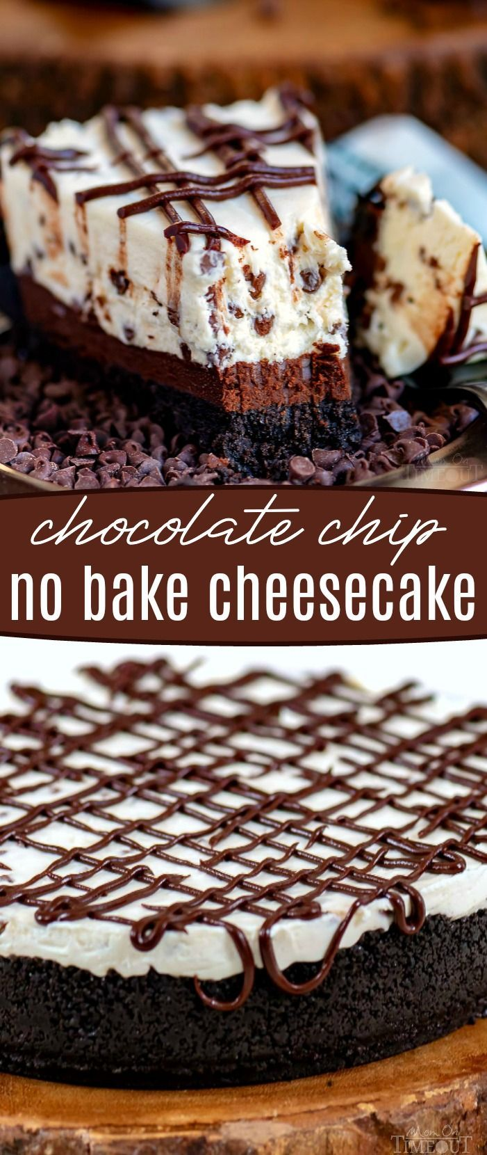 This easy Chocolate Chip No Bake Cheesecake is exactly what you are looking for!…