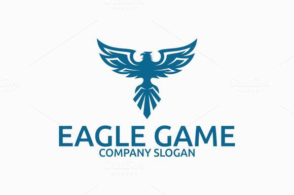 Eagle Game Logo by Brandlogo on @creativework247