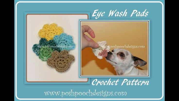 Eye Wash Pads For Dogs Crochet Pattern