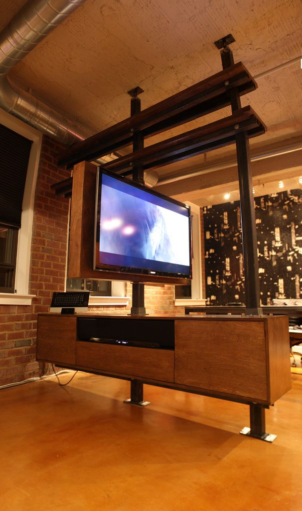 Rotating Media Cabinet | par dbd studio llc
