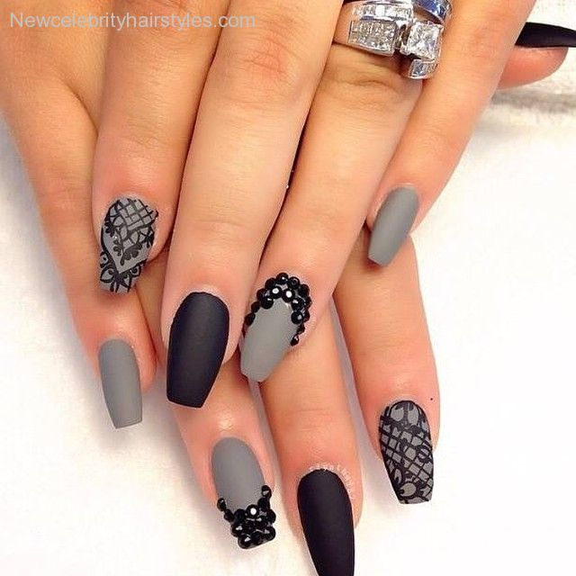 nails-shape-on-pinterest-coffin-nails-stiletto-nails-and-almond-
