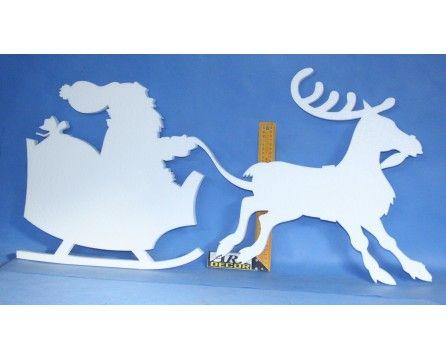 arqdecor.pl arqdecor.eu Mikołaj, sanie, renifer - dekoracje świąteczne 04 - ARQ - DECOR | Pracowania Dekoracji ARQ DECOR