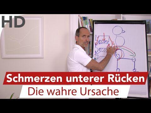 Schmerzen im unteren Rücken - Einrenken - ISG Blockade - Bandscheibenvorfall Vorbeugen - Übungen - YouTube