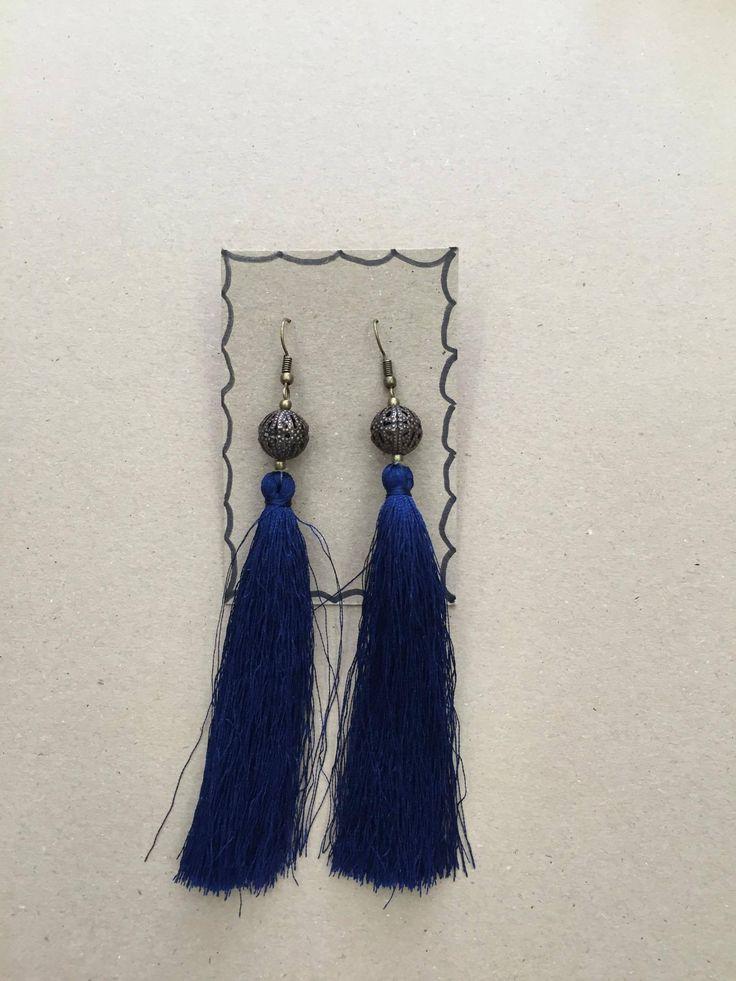 Lovely tassel earrings,