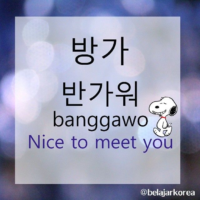 other term for nice to meet you