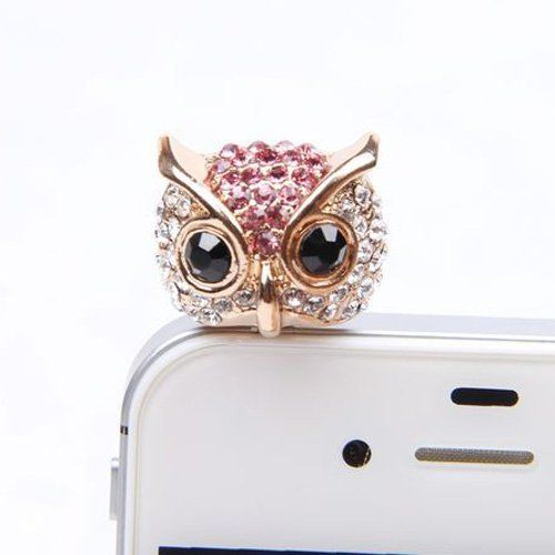GreatCase 3.5mm Cell Phone Charm Crystal Owl Design Headphone Jack Anti Dust Plug Cap Stopper for iPhone 4 4s 5 3Gs iPad iPod Touch Samsung Galaxy S2 S3 S4 Note 2 II LTE N7100 Ace2 I9220 Sony Xperia V Z New HTC One X Blackberry Nokia Motorola LG Optimus G Lenovo Eforstore,http://www.amazon.com/dp/B00EGIK39K/ref=cm_sw_r_pi_dp_SjVUsb0YGXD58D7N