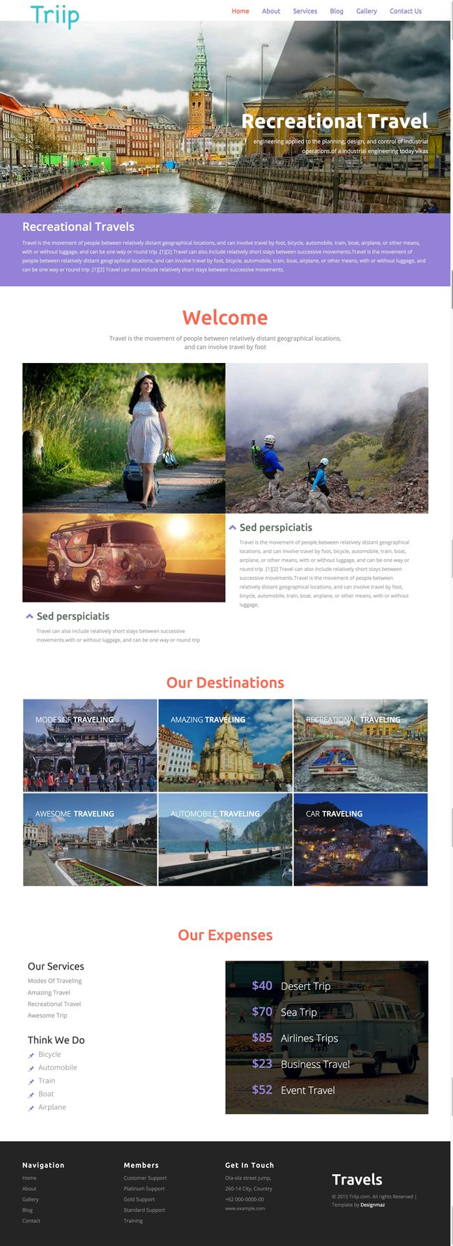 Triip-Free-HTML5-CSS3-Travel-Agency-Template-Preview