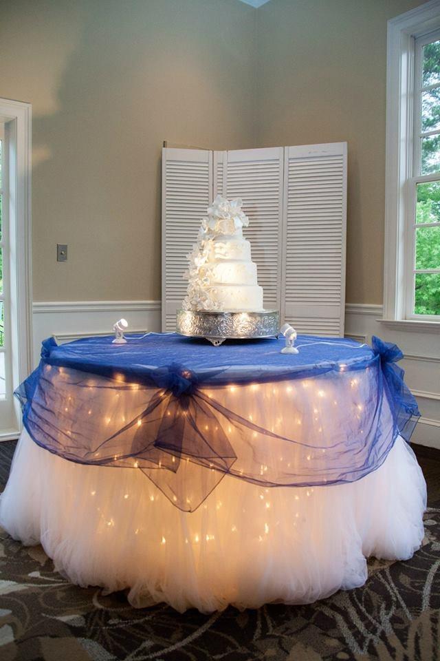 Display Table Skirt 9