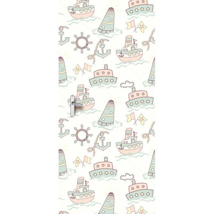 Deursticker Op zee | Een deursticker is precies wat zo'n saaie deur nodig heeft! YouPri biedt deurstickers zowel mat als glanzend aan en ze zijn allemaal weerbestendig! Verkrijgbaar in verschillende afmetingen.   #deurstickers #deursticker #sticker #stickers #interieur #interieurprint #interieurdesign #foto #afbeelding #design #diy #weerbestendig #baby #babykamer #zee #oceaan #zeeman #schip #schepen #marine #boot #boten #vuurtoren #tekening #jongen