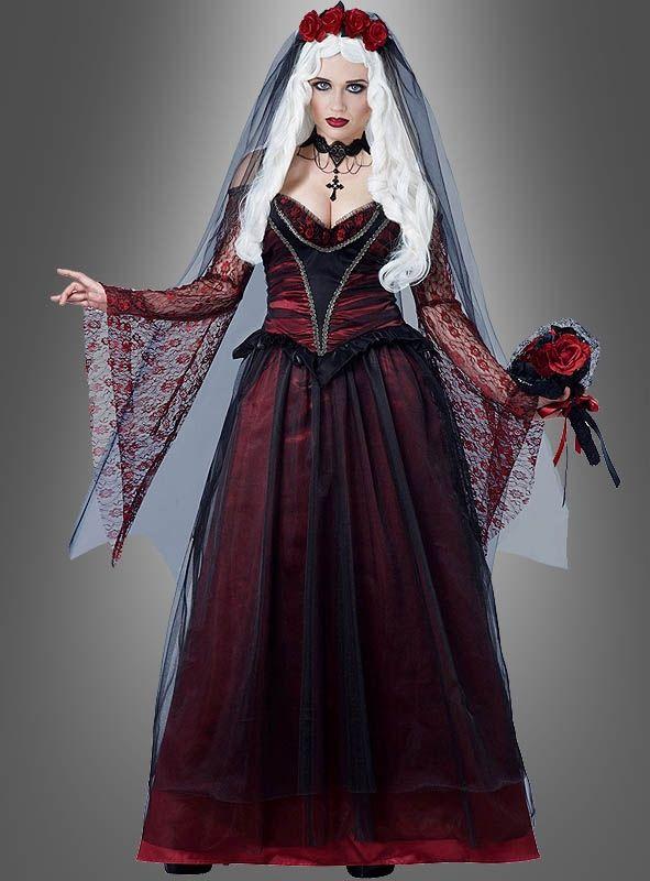 Vampir Kleid Bei Kostumpalast De Vampirkleid Vampir Outfits Vampir Kostum
