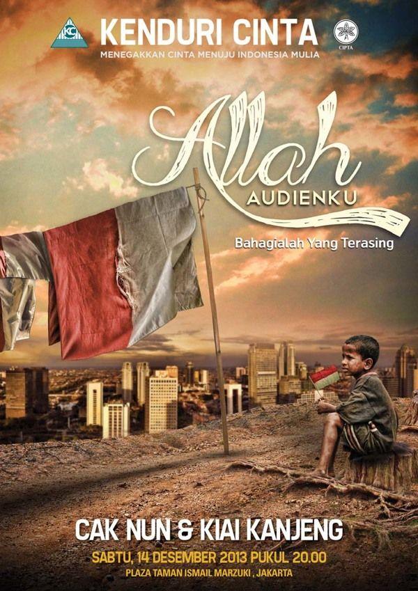 Allah Audienku by Erik Supit, via Behance