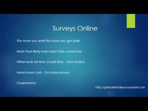 Get paid to take surveys Are you wondering how to get paid to take surveys? Or how to get paid to take online surveys? Well I will show you a legitimate way to  ...Read More