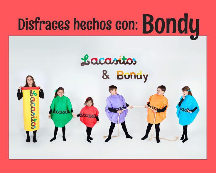 Lacasitos & Bondy se han unido para confeccionar estos disfraces tan demandados por todos vosotros. os dejamos el link donde veréis Como haceros vuestro disfraz de Lacasito favorito.  https://www.youtube.com/watch?v=VtYFskrJDfo