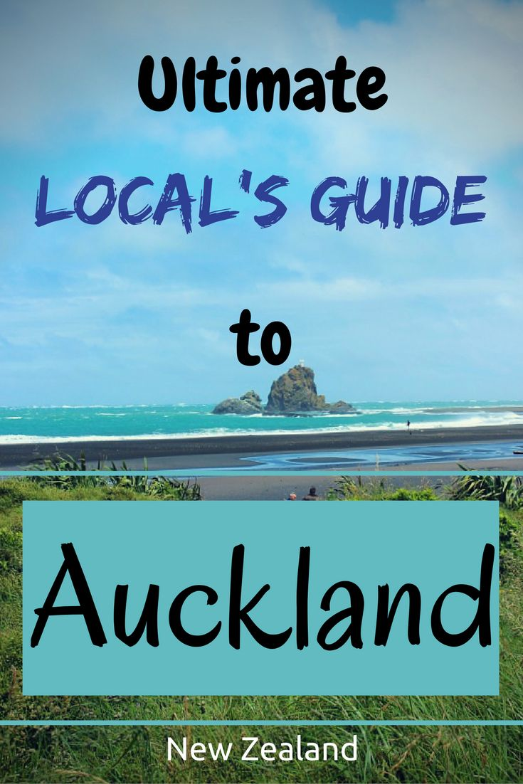 Live like a local in this ultimate guide to Auckland, New Zealand.