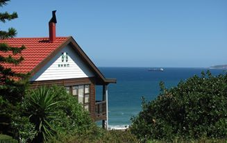 Whale-Phin Guest House #Mosselbay enjoy unspoilt view of the the local fynbos and Indian Ocean