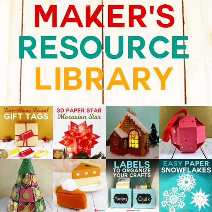 Download JenniferMaker DIY & Craft File Resource Library - Jennifer ...
