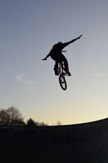 Gary Cameron Kirky Skate Park November 2011 - #GoHighOrGoHome #RideBMX #RideOrDie