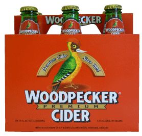 Ah, Woodpecker Cider...so refreshing on a hot day