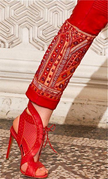 Roberto Cavalli red inspiration