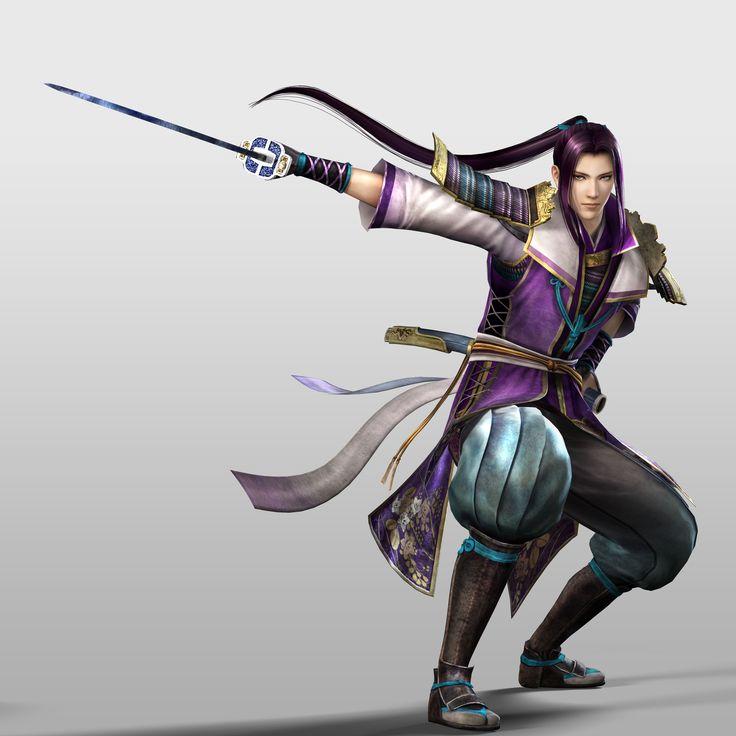 Mitsuhide en Samurai Warriors 4.