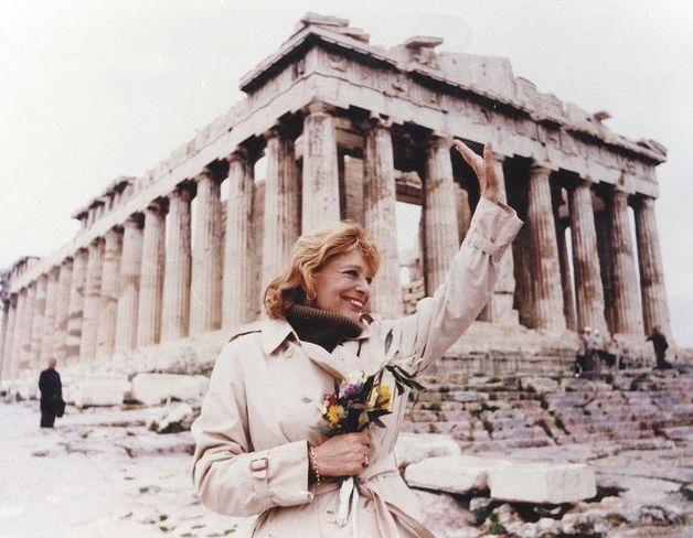 Melina Merkouri @ Acropolis