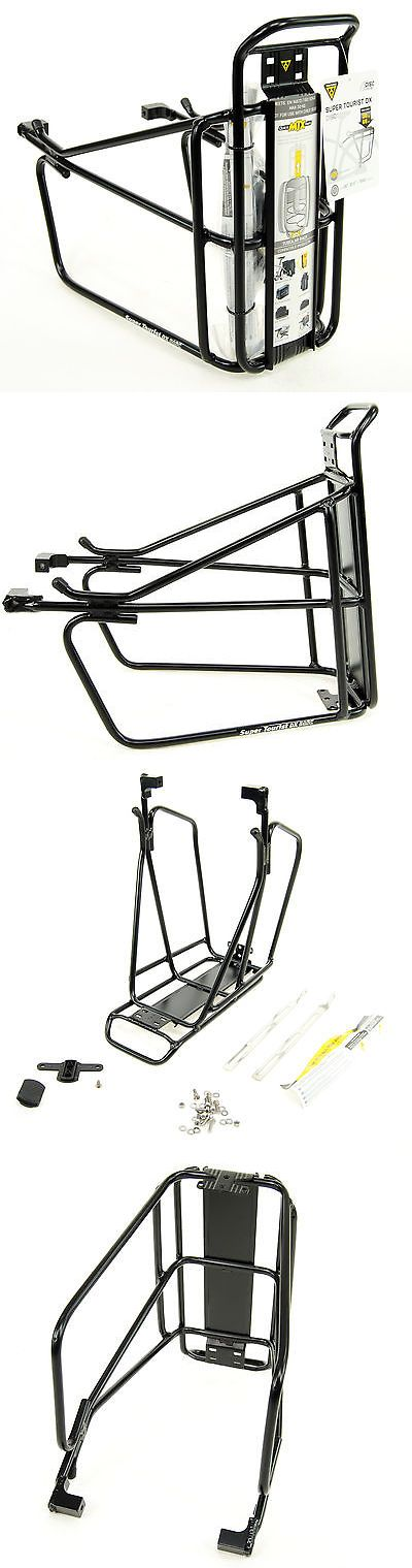 Carrier and Pannier Racks 177836: Topeak Super Tourist Dx Bicycle Rear Rack W/Disc Mounts BUY IT NOW ONLY: $51.87